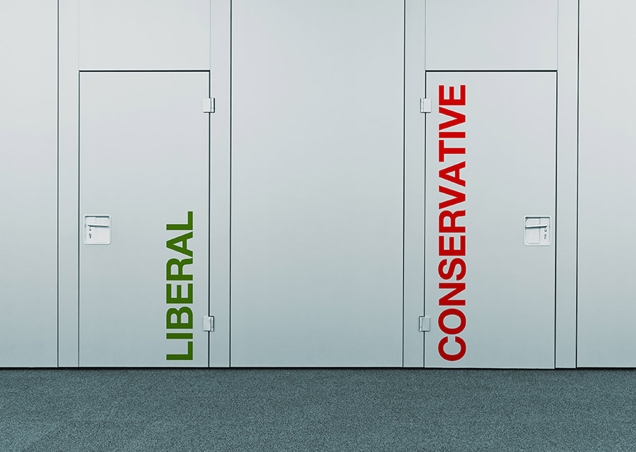 Conservatives and Liberals – The Difference Today